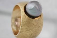 Ring 750/000 Gold Tahiti ZuchtperleDM 2.520,00