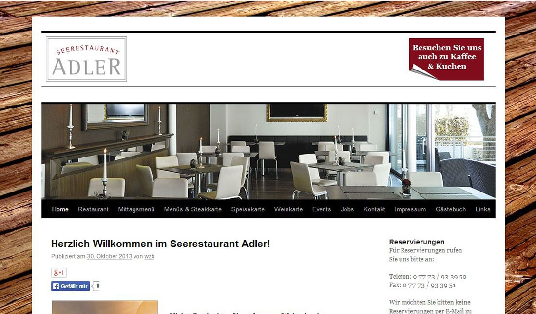 Seerestaurant Adler