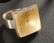 Gold/Silber Ring